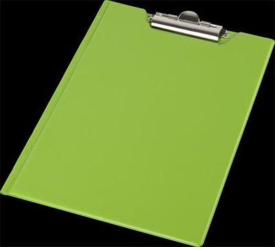 Podložka na písanie, s príklopom, A4, rohové vrecko, PANTAPLAST, pastelový zelený