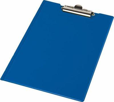 Podložka na písanie, s príklopom,  A4, rohové vrecko, PANTAPLAST, tmavomodrá