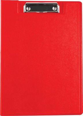 Podložka na písanie, s príklopom, A4, VICTORIA, červená