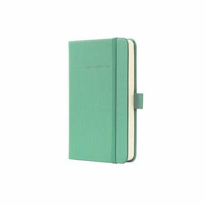 """Poznámkový blok, exkluzívny, A5, kockovaný, 194 strán, s tvrdou obálkou, SIGEL """"Conceptum"""", zelený"""