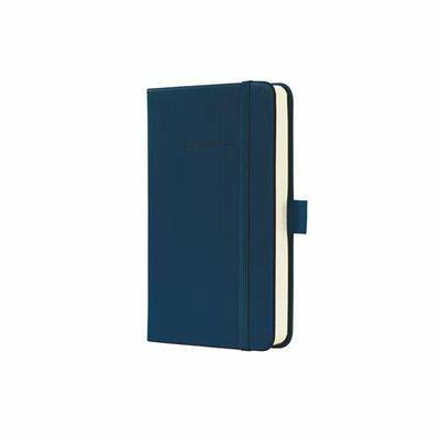 """Poznámkový blok, exkluzívny, A5, linajkový, 194 strán, s mäkkou obálkou, SIGEL """"Conceptum"""", modrý"""