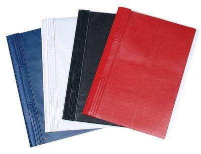 Rýchloviazač, tvrdý zadný obal, PVC, A4, VICTORIA, modrý
