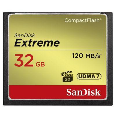 SanDisk Extreme CompactFlash 32GB 120MB/s