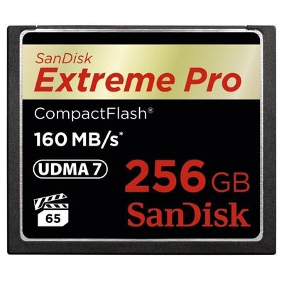 SanDisk Extreme Pro CompactFlash 256GB 160MB/s