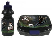 Set Fľaša na pitie + Box na desiatu :Fotbal Gól