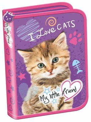 Unipap peračník, 1 poschodový prázdny, My Little Friend Cat (MJK-241741)