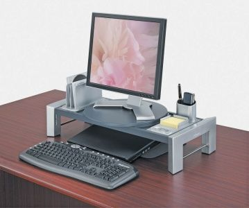 "Stojan na monitor, FELLOWES ""Flat Panel Workstation"""