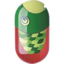 Strúhadlo a guma, 2 otvory, s nádobkou, FABER-CASTELL, motív: ryba