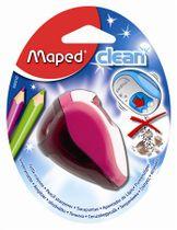 """Strúhadlo, dvojdierové, so zásobníkom, MAPED """"Clean"""", mix farieb"""