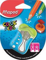 """Strúhadlo, dvojdierové, so zásobníkom, tupé strúhanie, MAPED """"Color Peps"""", mix farieb"""