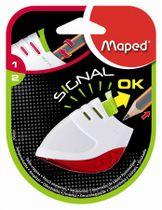 "Strúhadlo, jednodierové, so zásobníkom, MAPED ""Stop Signal"", mix farieb"