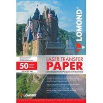 Termotransférový papier Lomond pre laserovú tlač, A4, 50 hárkov, pre svetlý textil