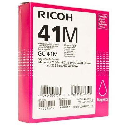 Toner RICOH GC 41 HC (405763) magenta - originál (2 200 str.)