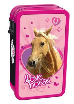 Unipap peračník, 2 poschodový, plný, I Love Horse (MJK-241390)