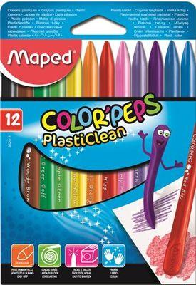 """Voskovky, MAPED """"Color Peps"""", 12 rôznych farieb"""