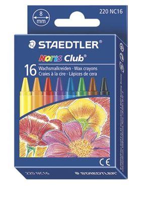 "Voskovky, STAEDTLER ""Noris Club"", 16 rôznych farieb"