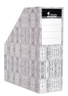 """Zakladač, kartónový, 90 mm, VICTORIA, """"Textil"""""""
