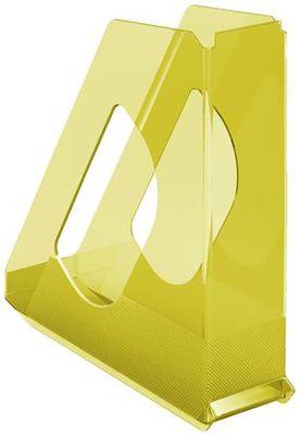 """Zakladač, plastový, 68 mm, ESSELTE """"Colour`Ice"""", žltý"""