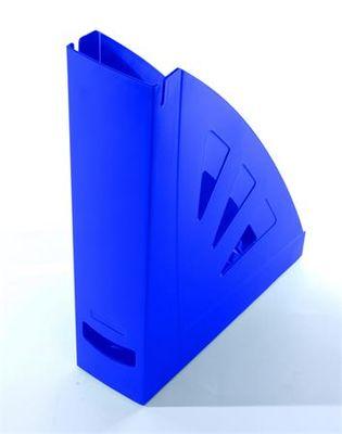 Zakladač, plastový, 75 mm, VICTORIA, modrá