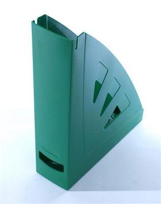Zakladač, plastový, 75 mm, VICTORIA, zelená