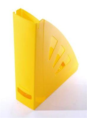Zakladač, plastový, 75 mm, VICTORIA, žltá