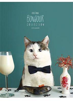 """Zošit, linajkový, A5, 48 listov, SHKOLYARYK """"Bonjour"""", mix"""